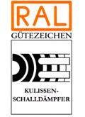 RAl Gutezeichen Kulissenschalldämpfer